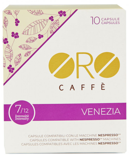Oro Caffe Venezia Nespresso kompatible Kapseln