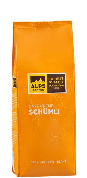 Schreyögg Alps Coffee Kaffee Creme Schümli | 500g Bohne | Vollautomaten