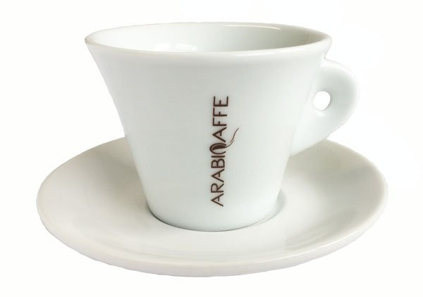 Arabicaffe Cappuccinotasse Konisch