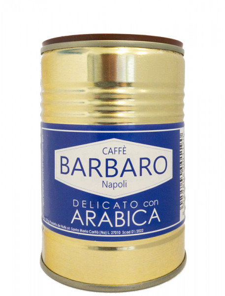 Barbaro Espresso Arabica gemahlen 100g