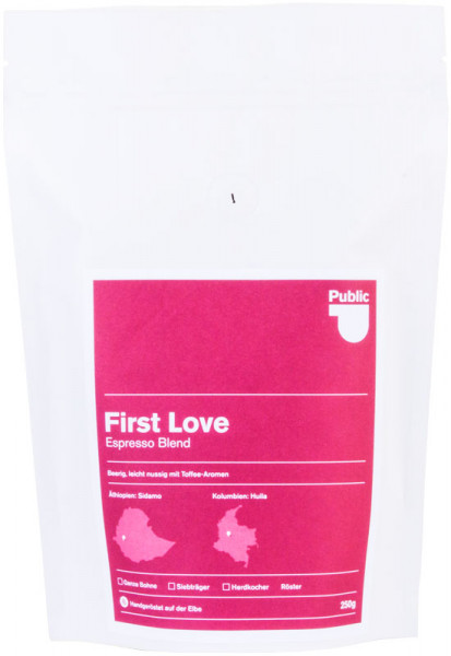 Public Coffee Roasters Espresso First Love