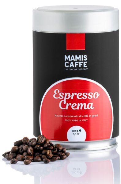 Mamis Caffe Espresso Crema 250g Dose