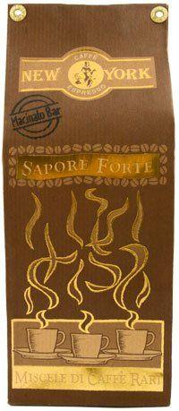 Caffe New York Sapore Forte 250g   Siebträgermahlung