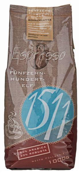 1511 Espresso Kaffee