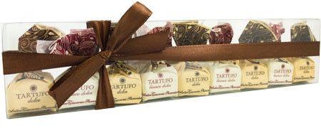 Antica Torroneria Piemontese Tartufi Mix Dolce e Bianco Dolce