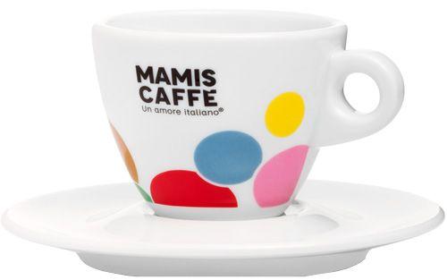 Mamis Caffè Cappuccinotasse weiß