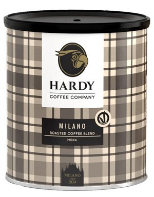 HARDY Milano Espresso gemahlen 250g