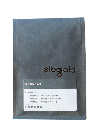 Elbgold Espresso Neunbar 250g ganze Bohne