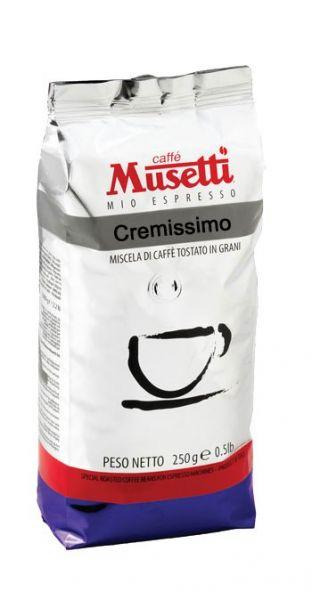 Musetti Espresso Cremissimo 250g Bohne