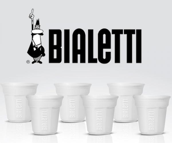 Bialetti Espressotassen Weiß