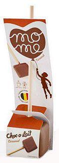Choc-o-lait Caramel Trinkschokolade am Stil