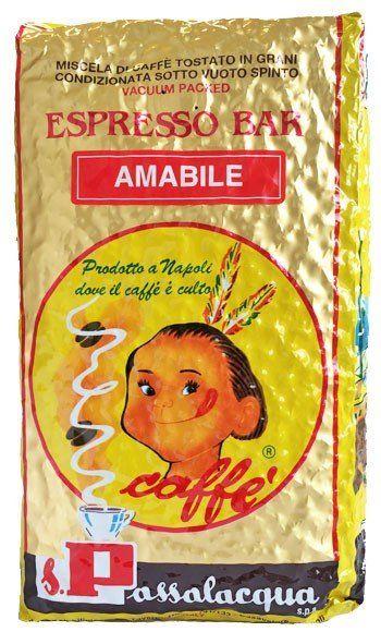Passalacqua Espresso Amabile 1000g Bohne