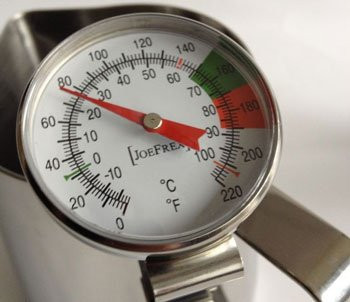 JoeFrex - Milchschaum Thermometer
