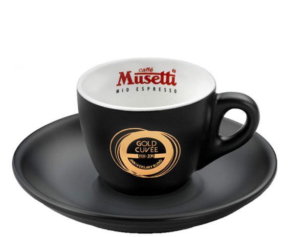 Musetti Espressotasse Gold Cuvee