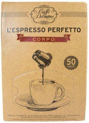 Diemme Nespresso Kapseln Corpo