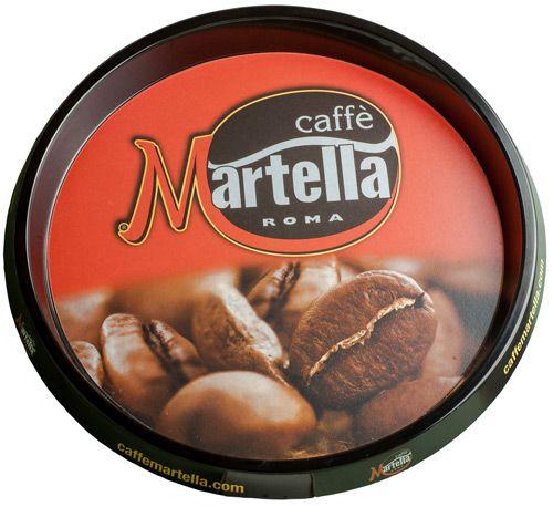 Kaffee Martella Tablett