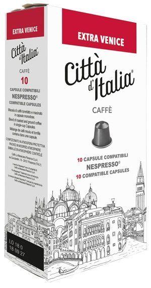 Città d' Italia Nespresso kompatible Kapseln Extra Venice