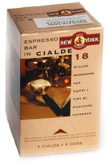 Caffé New York Espressopads entkoffeiniert