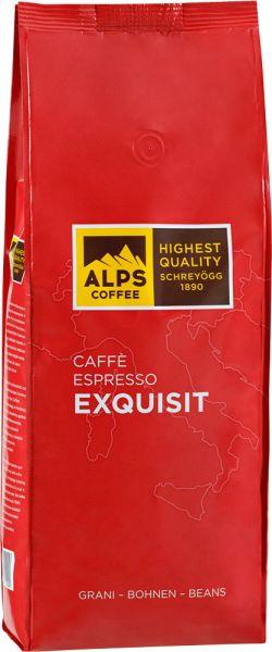 Alps Coffee Schreyögg Kaffee Espresso EXQUISIT - Espresso Italiano