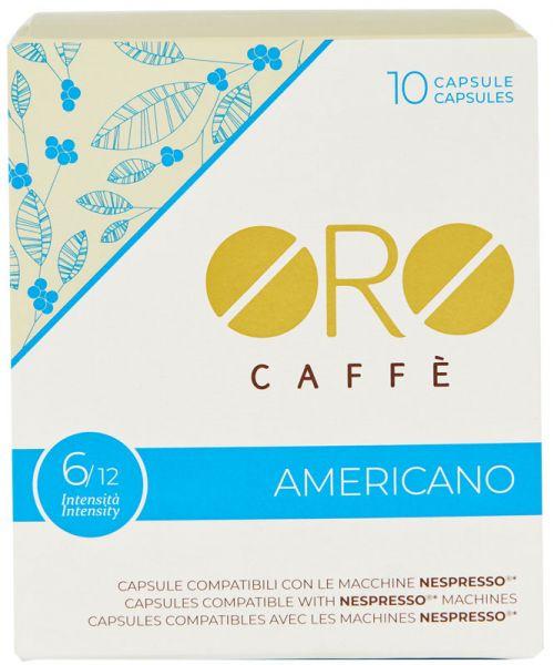 Oro Caffe Nespresso Kapseln Americano