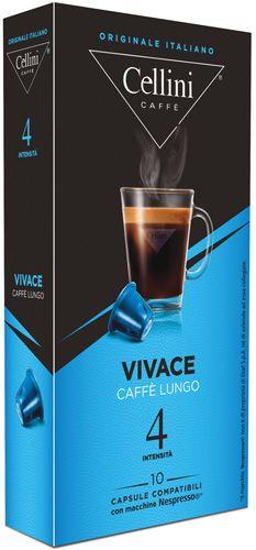 10 Cellini Vivace Nespresso®* Kapseln