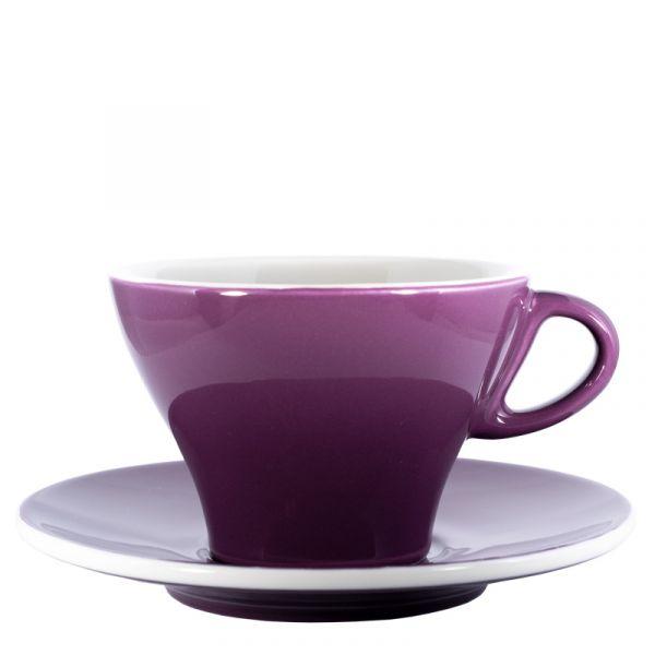 Club House Milchkaffeetasse Violett