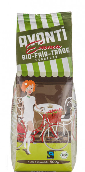 Avanti Emma Bio Fairtrade Espresso 500g