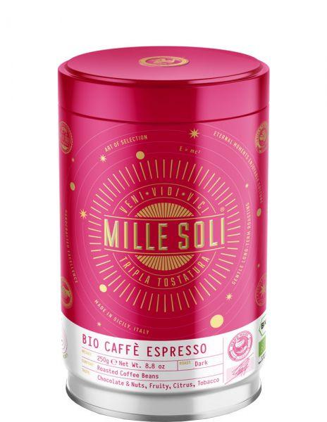 Mille Soli Bio Espresso 250g Bohnen