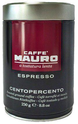 Mauro Kaffee Espresso Centopercento gemahlen