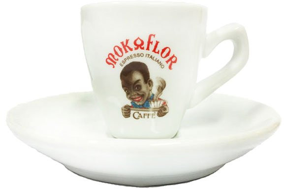 Mokaflor Cappuccinotasse weiss Moretto