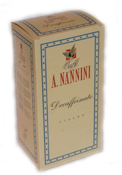 Nannini Espressopads entkoffeiniert