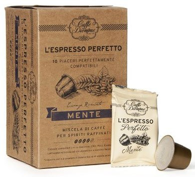 10 Diemme Nespresso®* kompatible Kapseln MENTE