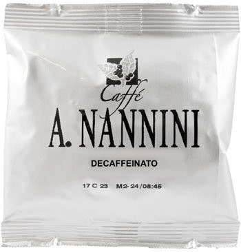 Nannini entkoffeinierte ESE Pads