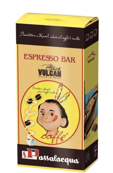 Passalacqua Caffè Black Vulcan Espresso Kaffee