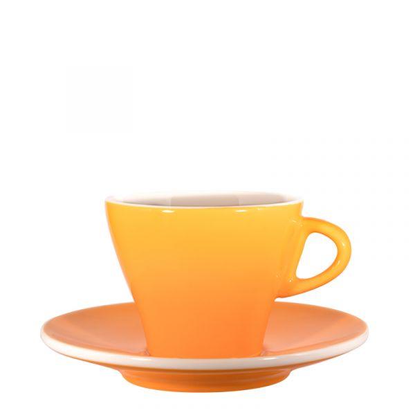 Cappuccinotasse bunt - Kurkuma