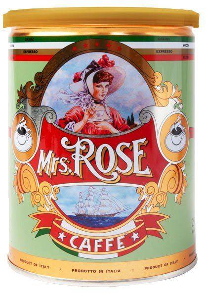 Mrs. Rose Kaffee, Espresso gemahlen