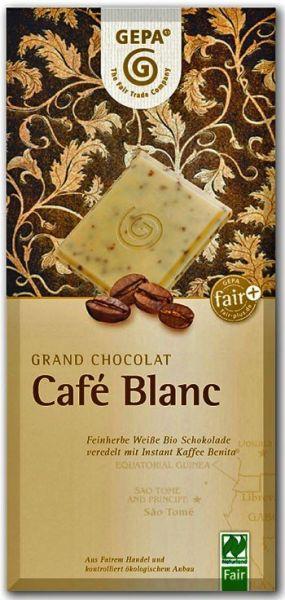 GEPA BIO Schokolade Cafe Blanc