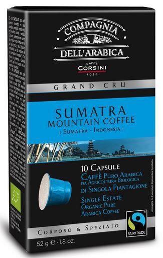 10 Compagnia dell'Arabica Nespresso®* kompatible Kapseln