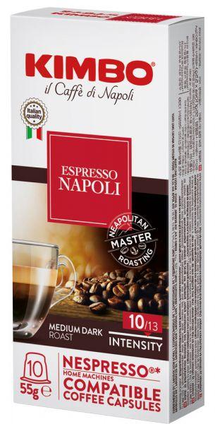 Kimbo Napoli Nespresso®*-kompatible Kapseln