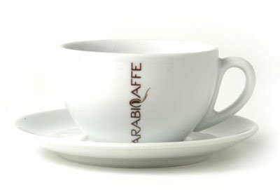 Arabicaffe Milchkaffeetasse