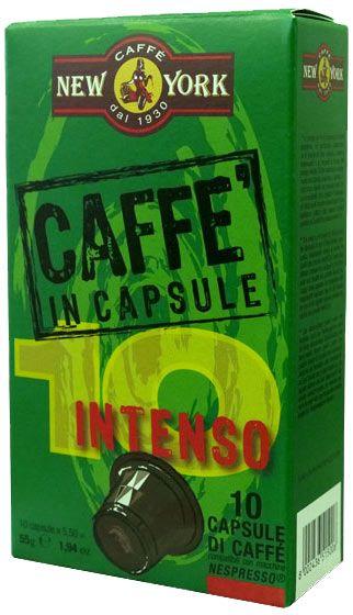 Caffe New York Nespresso Kapseln - Intenso 10 Stück