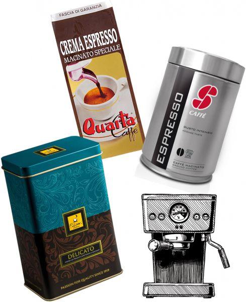 Espresso Probierset für Siebträger