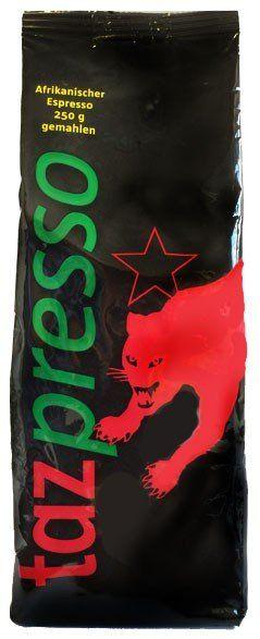 tazpresso Bio Espresso 250g gemahlen