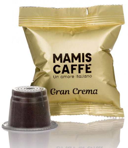 Mamis Caffe Nespresso® kompatible Kapseln Gran Crema