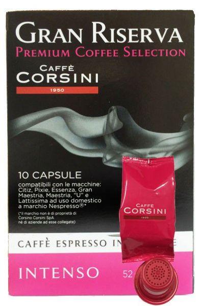 10 Corsini Nespresso®* kompatible Kapseln Intenso