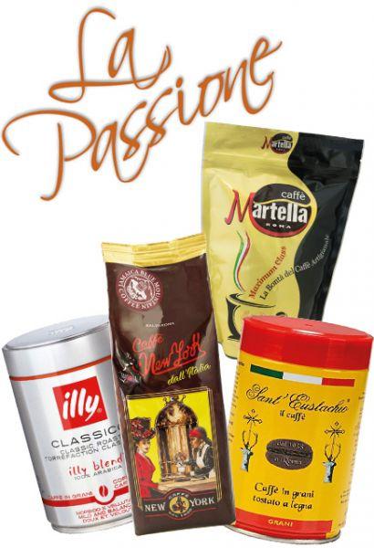Die besten Espresso Kaffees in einem Set