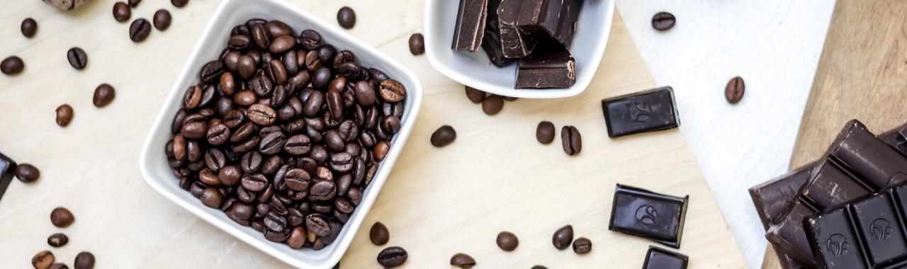 Aroma-Kaffee-Schokolade
