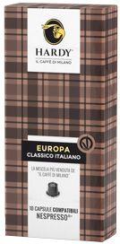 Hardy Nespresso Europa Kapsel