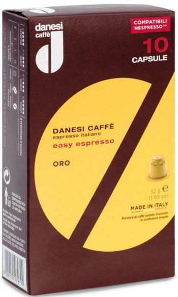 10 Danesi Oro Nespresso®*-kompatible Kapseln