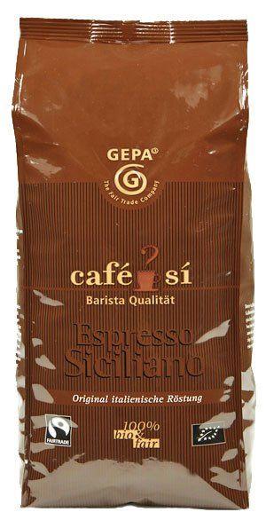 Gepa Cafe Si Espresso Siciliano